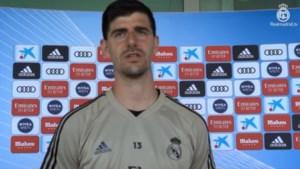 """Thibaut Courtois na eerste groepstrainingen met Real Madrid: """"Competitie hervatten en bovenaan eindigen"""""""