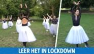 Leer eens een balletdansje placeren – mét tutu's