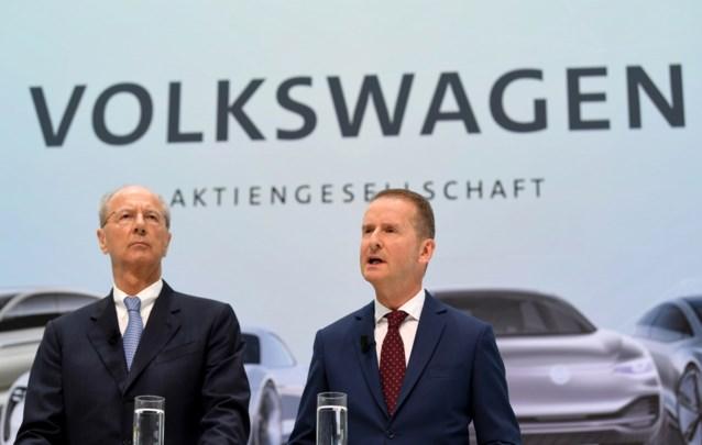 VW-topman Diess en voorzitter Pötsch kopen rechtszaak af voor 9 miljoen euro