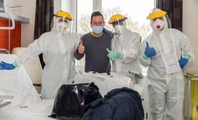 Aantal patiënten op Covid-afdeling AZ West daalt
