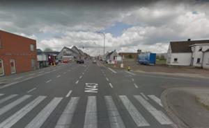 Tijdelijk éénrichtingsverkeer op N43 op Molenhoek in Petegem