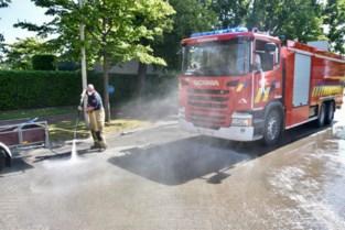 Brandweer uren in de weer om spoor van frituurvet op te ruimen