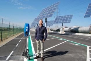 ADPO opent parking voor 150 wagens met 20 laadpalen voor elektrische wagens