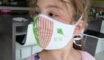 Mondmasker met naam voor elke leerling in Vrije Basisschool Ruien