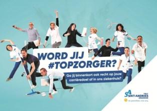 Sint-Andriesziekenhuis zoekt minstens tien #topzorgers