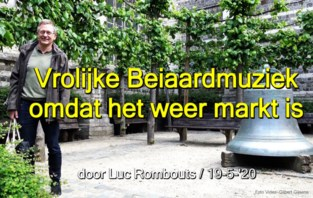 VIDEO. Beiaard viert terugkeer naar de markt