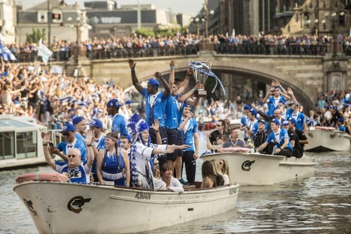 """Vijf jaar geleden werd KAA Gent kampioen: """"Dat feest blijft in mijn geheugen tot ik mijn hoofd neerleg"""""""