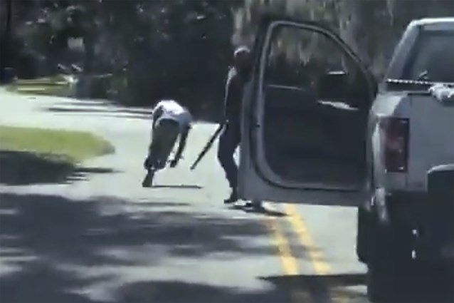 Man opgepakt die moord op jogger in Georgia filmde