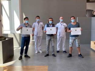 Axel Daeseleire schenkt 1.000 mondmaskers aan ziekenhuis waar hij voor zijn leven vocht