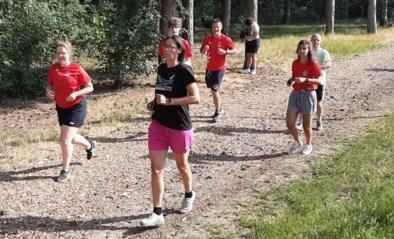 Tia Hellebaut traint Special Olympiërs