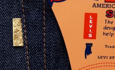 Levi's viert verjaardag iconische jeans met gouden tag