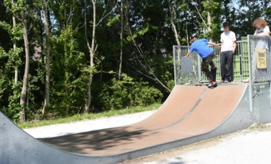 Nieuwe toestellen in skatepark