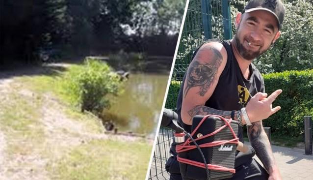 Politie vindt koppel doorzeefd met kogels op oevers van visvijver, speurders staan voor groot mysterie