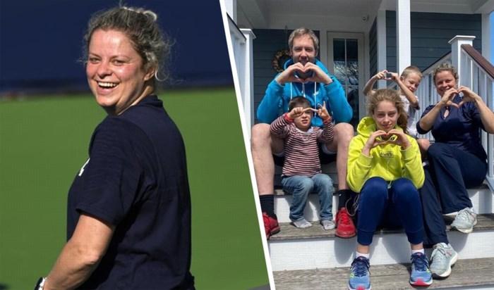 """Hoe heeft Kim Clijsters in de States en België de lockdown doorstaan? """"Als de US Open zouden doorgaan, wil ik klaar staan"""""""
