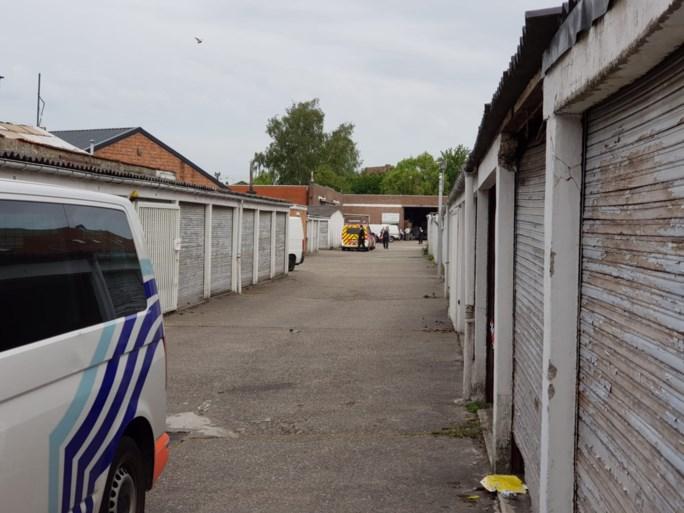 Drugslabo ontdekt midden in Brugse Poort, Civiele Bescherming ingeschakeld