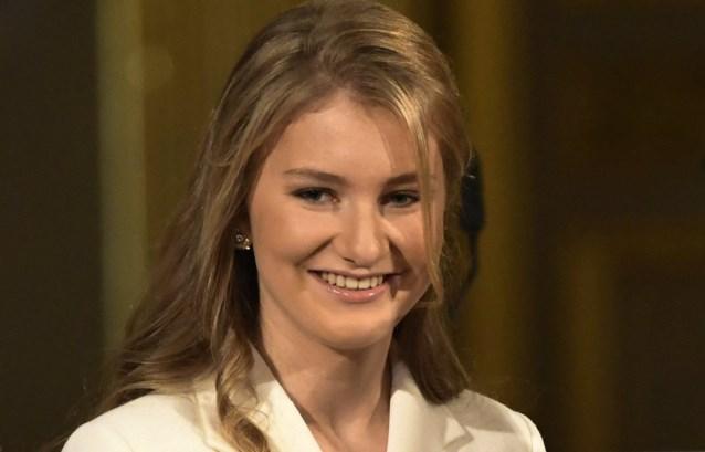 Prinses Elisabeth afgestudeerd in middelbaar