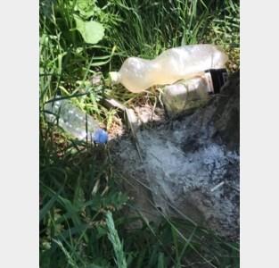 Politie zet wildkampeerders en vervuilers aan Belleput op de bon