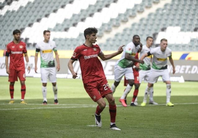 Bundesliga-sensatie Havertz nekt nu ook Monchengladbach met twee doelpunten
