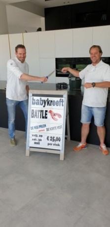 Restaurant uitbaters organiseren Babykreeft Battle