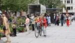 """Eindelijk opnieuw bloemenmarkt op de Kouter: """"Klanten zijn ons trouw gebleven"""""""