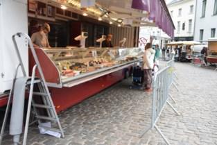 Vrijdagmarkt neemt rustige start