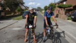 """Duo fietst voor Kom op tegen Kanker:""""Door corona is er maar weinig aandacht voor dit prachtige initiatief"""""""