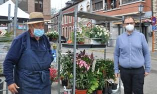 """Mini-marktje van Hoegaarden pikt de draad weer op: """"Zolang mijn echtgenoot niet kan pintelieren, blijft hij liever thuis"""""""