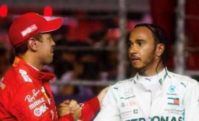 """""""Mercedes kan tegenover Lewis Hamilton dreigen met Sebastian Vettel"""""""