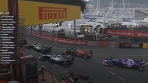 Thibaut Courtois 13e in virtuele Grand Prix F1 van Monaco, Russell opnieuw de snelste
