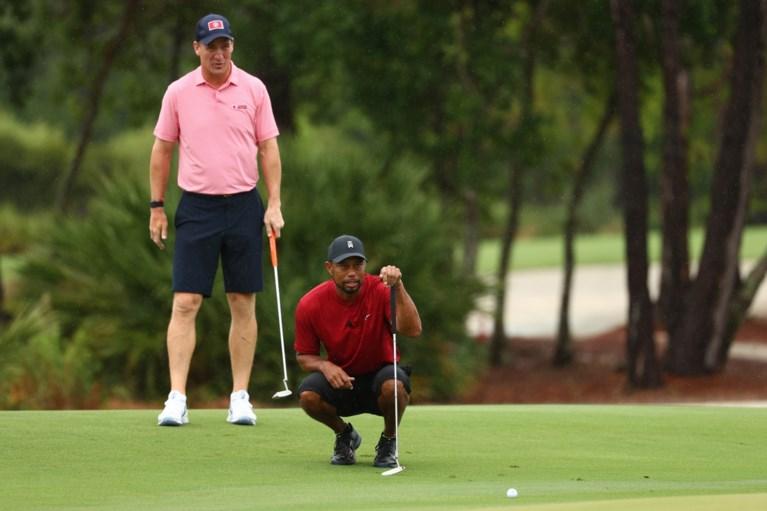 Vedetten Tiger Woods, Payton Manning en Tom Brady golfen 20 miljoen dollar bij elkaar voor goede doel