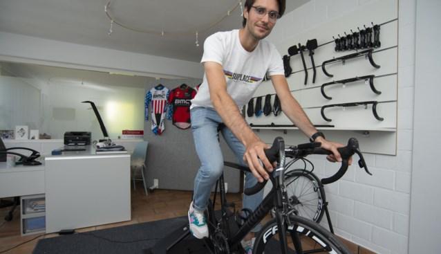 Sportkinesist Korneel Mansis opent 'Bikefitting Surplace'