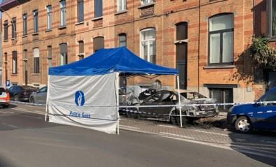 Personenwagen uitgebrand in Gent