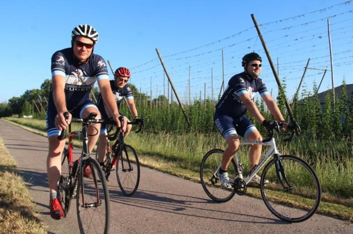 Het is zalig fietsen in de hoofdstad van het goede leven: grote oppervlakte is een grote troef