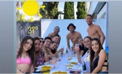 """Sevilla-spelers overtreden coronaregels met barbecue, maar """"het enige wat we willen, is opnieuw voetballen"""""""