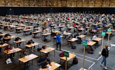 """Gentse Flanders Expo ontvangt eerste studenten: """"Best spannend om hier examens af te leggen"""""""