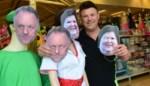 """Marc Van Ranst koopt acht maskers van zichzelf bij Jokershop : """"Marc en Maggie sloten alle winkels, dan mag er met hen gelachen worden"""""""