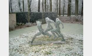Bronzen beeld van 300 kilo gestolen uit voortuin
