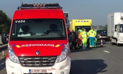 Wegenwerker in levensgevaar na arbeidsongeval op E40