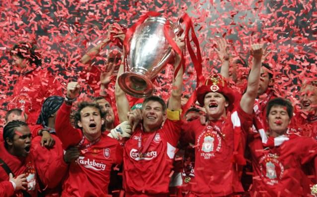 """15 jaar geleden: de onwaarschijnlijke remonte van Liverpool tegen AC Milan in de CL-finale: """"Iconische voetbalavond"""""""