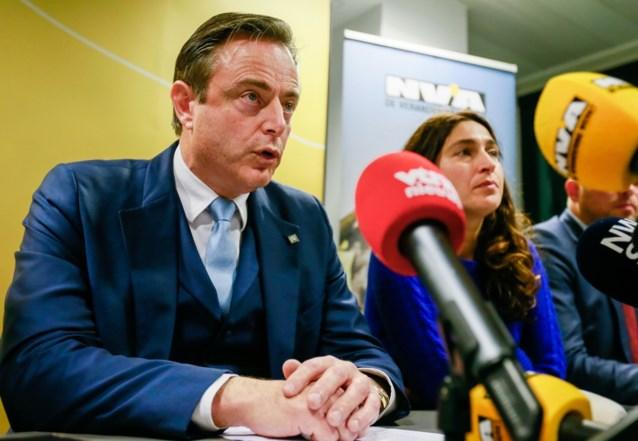 """Bart De Wever: """"Federale regering zonder democratisch draagvlak in Vlaanderen: ik hoop dat iedere partijvoorzitter beseft dat zoiets volstrekt ondenkbaar is"""""""