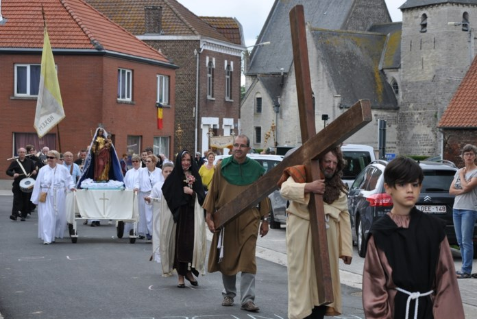 Geen kermis, wel (kleine) processie