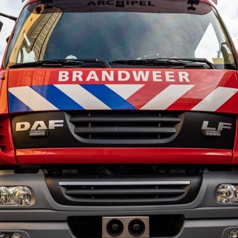 Bewoner in shock naar ziekenhuis bij brand in flat