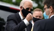 """Presidentskandidaat Joe Biden voor het eerst sinds 15 maart weer in het openbaar: """"Goed weer eens buiten te komen"""""""