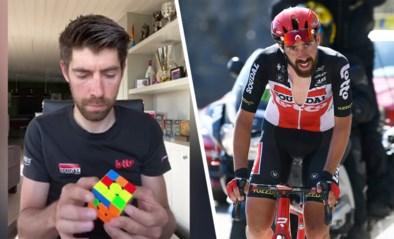 """De lockdown-verslaving van Thomas De Gendt: """"Ik spendeerde al 400 euro aan Rubiks kubussen"""""""