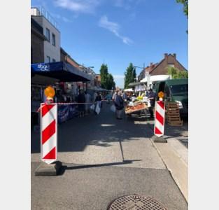 Dinsdagmarkt is opnieuw bereikbaar via verschillende toegangswegen