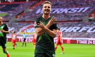 Aanvoerder Koen Casteels boekt met Wolfsburg makkelijke zege in Leverkusen