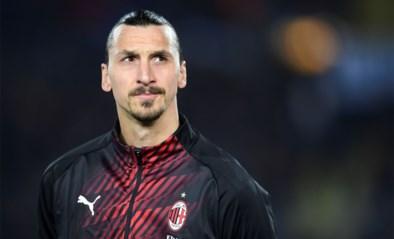 AC Milan haalt opgelucht adem: blessure van Zlatan Ibrahimovic lijkt mee te vallen