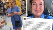 """Zorgverlener krijgt veel steun nadat vrouw in winkel zegt dat ze """"bacteriën verspreidt"""", maar wordt nu zelf beschuldigd"""