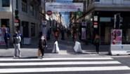 Nieuwstraat trekt sinds heropening winkels slechts de helft van het volk