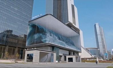 Echt of nep? Dit gigantisch aquarium trekt heel wat aandacht